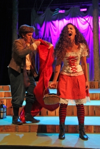 """AAAAAAHH!!!!"" (Clementina Franchesci - Freshman, ""Little Red"" & Jason Calzon - Junior, ""Baker"")"