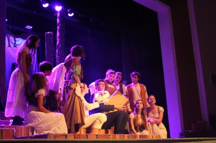 """Once Upon a Time!"" (Harrison Reed - Senior, ""Narrator/Mysterious Man"" & the cast)"